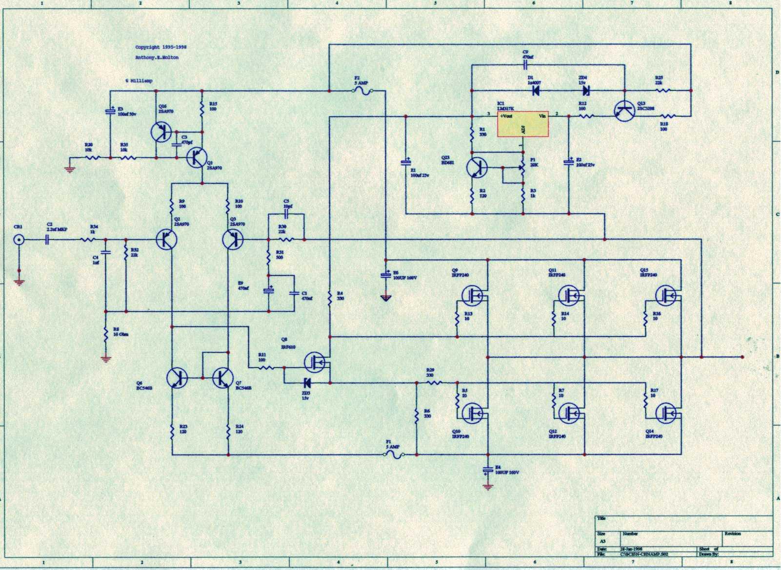5w Os Csves Vgfok Stk4050 Audio Amplifier With 200w Output