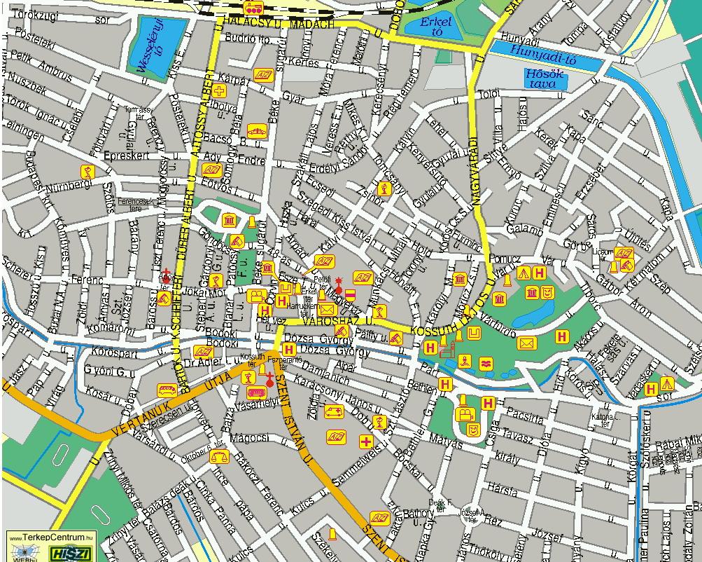 térkép gyula oldal4 térkép gyula