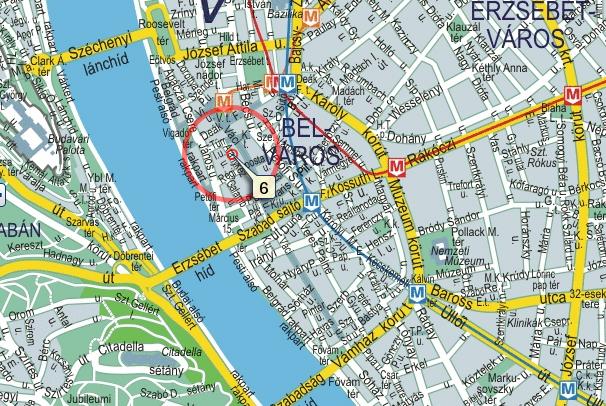 budapest térkép vörösmarty tér Frida Apartman ::: budapest térkép vörösmarty tér