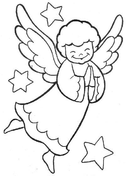 Disegni Angeli Da Colorare E Stampare