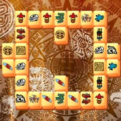 Azték Mahjong játék