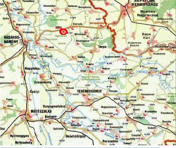 vásárosnamény térkép Tákos elérhetõ vásárosnamény térkép