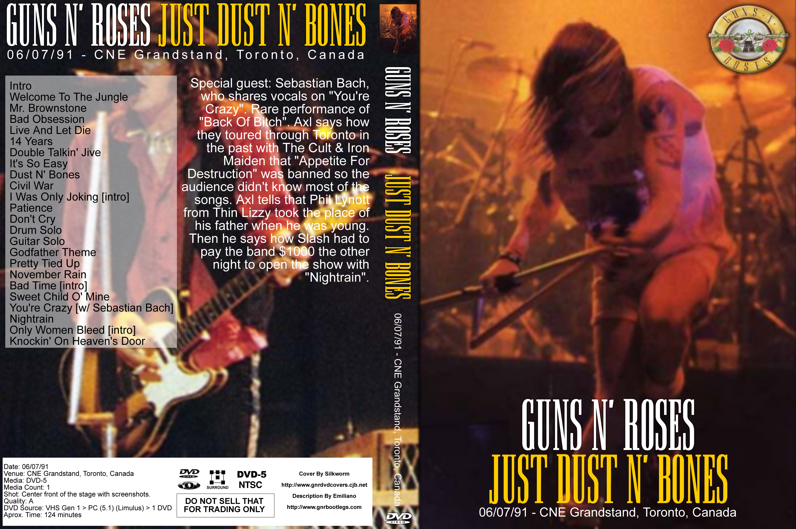 Guns N' Roses DVD Covers