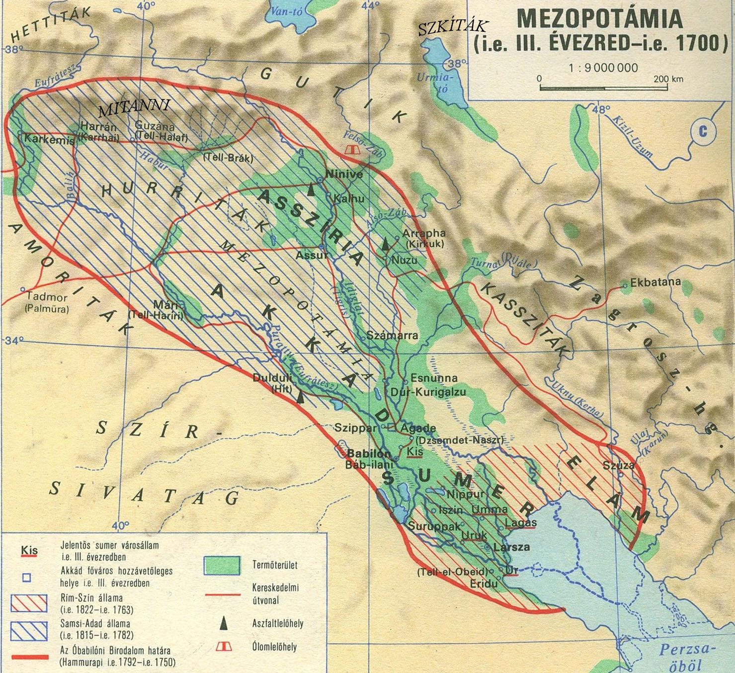 mezopotámia térkép Ninahakuddu | Sumér Mitológia | Anunnakik a Sumér Mitológiában | A  mezopotámia térkép