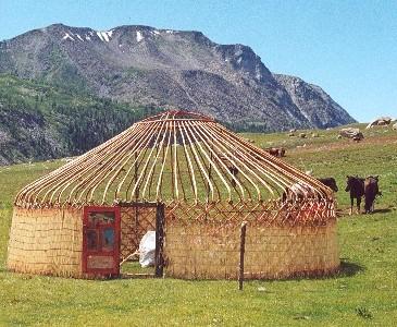 Kazah jurta