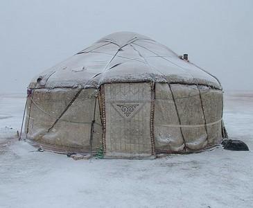 Kirgiz jurta