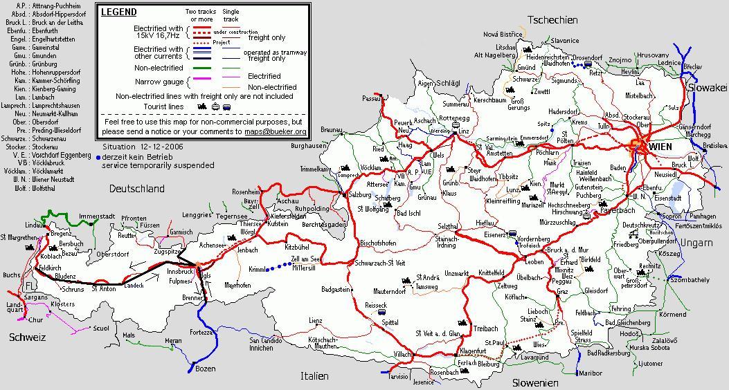 ausztria térkép tirol Ausztria 2007 ausztria térkép tirol