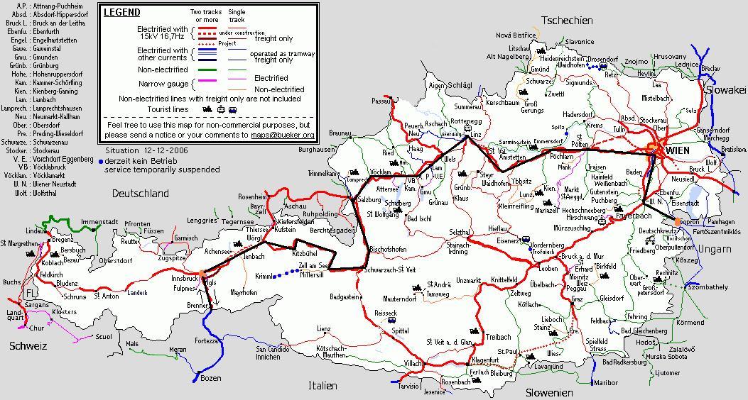 ausztria térkép salzburg Ausztria 2007 ausztria térkép salzburg