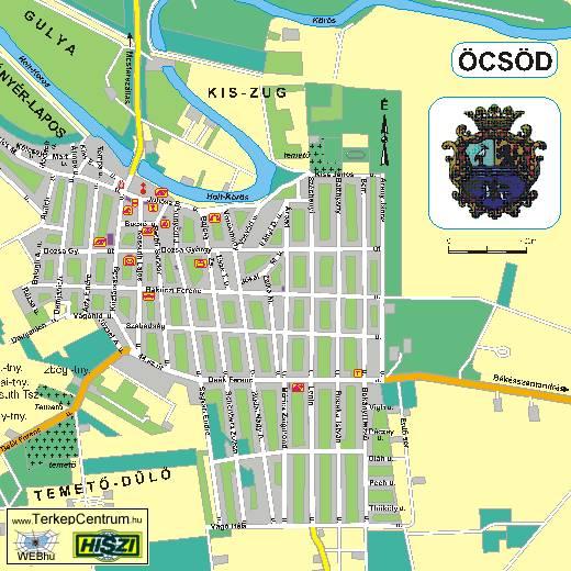 öcsöd térkép Az Öcsödi Íjászok Hivatalos honlapja öcsöd térkép