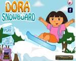 Snowboardozó Dóra