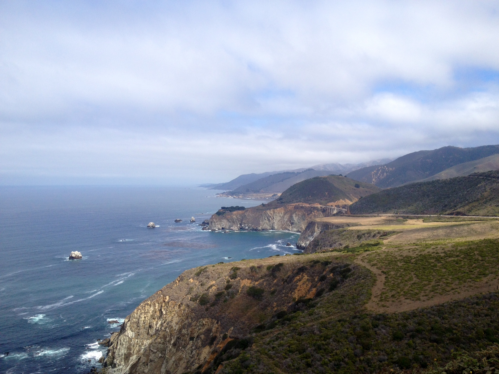 Coastline of Big Sur
