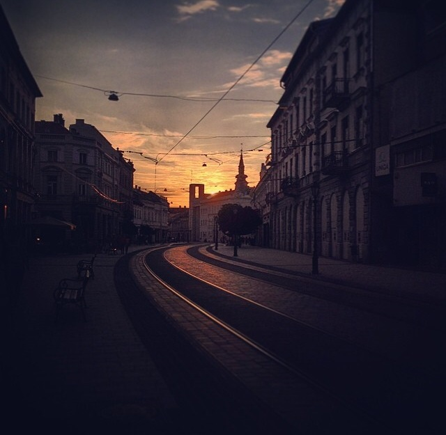 One of my last summer evenings in Miskolc