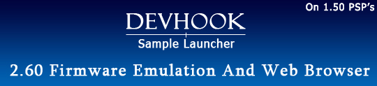 devhoook sample luncher