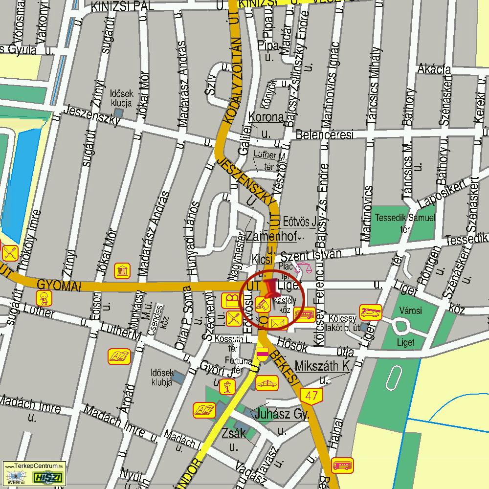 mezőberény térkép Elérhetőség mezőberény térkép