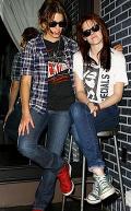 Nikki Reed és Kristen Stewart