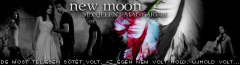 Megjelent a New Moon - Újhold magyarul!