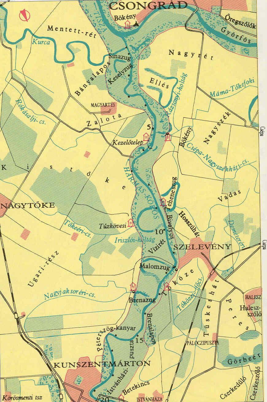 kunszentmárton térkép terkepek kunszentmárton térkép