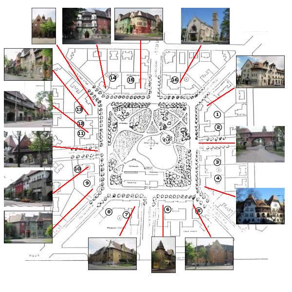 budapest wekerle telep térkép Wekerletelep budapest wekerle telep térkép